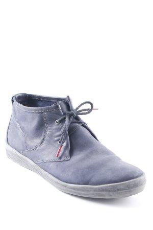 Think! Schnürschuhe dunkelblau schlichter Stil