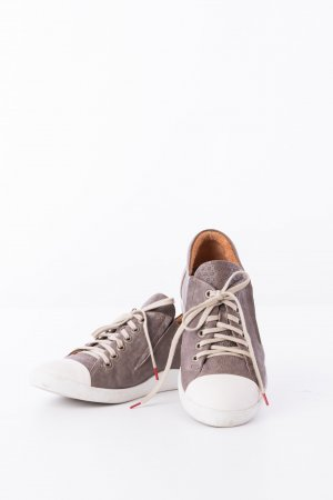 Think! Sneakers white-brown leather