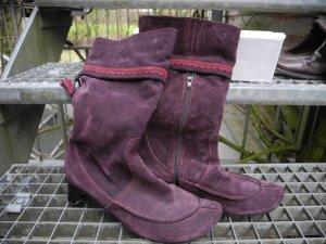 THINK - Stiefel, violett, bequem & extravagant, Gr39