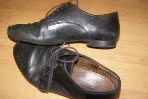 Think! Vintage Leder Schnürer