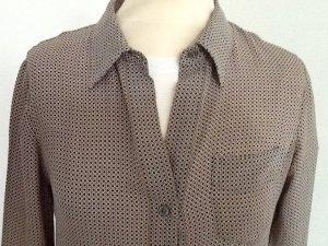 Theory Shirtwaist dress multicolored silk