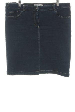 Thom by Thomas Rath Jupe en jeans bleu style décontracté
