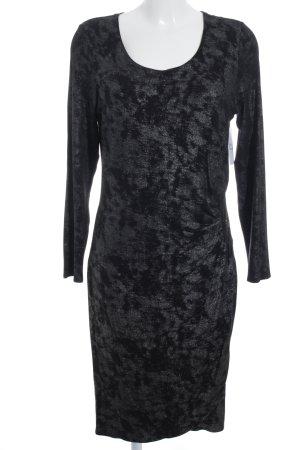 Thom by Thomas Rath Shirt Dress black-silver-colored leopard pattern