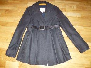 Thomas Burberry Wool Jacket dark grey mixture fibre