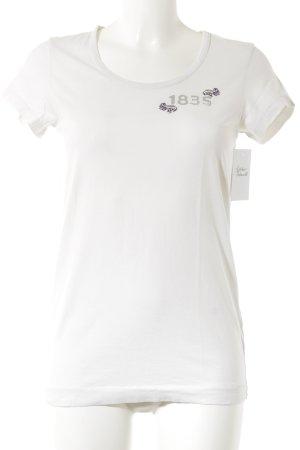 Thomas Burberry T-Shirt Schriftzug gedruckt Casual-Look