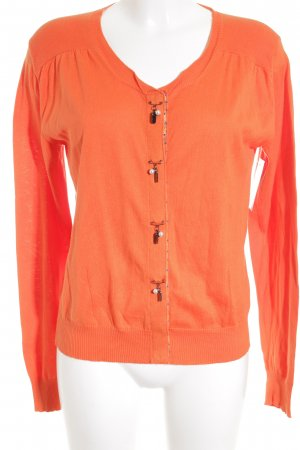 Thomas Rath Cardigan neon orange business style