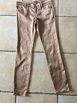 Thomas Rath Hose Stretch Satin im Brokatlook Gr. 38