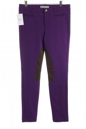 Thomas Rath Riding Trousers lilac-brown extravagant style