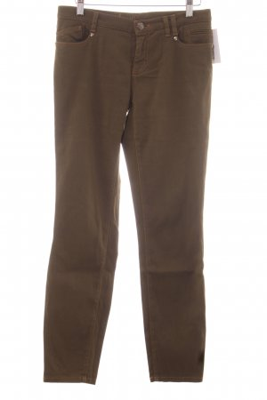 Thomas Rath Straight-Leg Jeans olivgrün Casual-Look