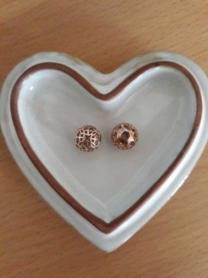 "Thomas Sabo 2 Karma Beads ""Ornament"" rosegold"