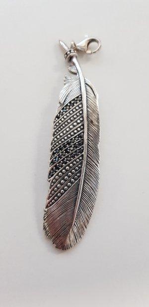 Thomas Sabo Ciondolo nero-argento