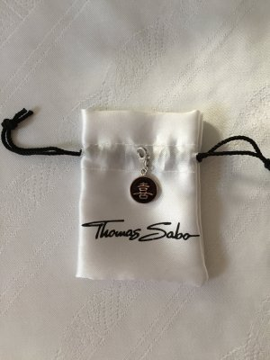 Thomas Sabo Pendant silver-colored-black