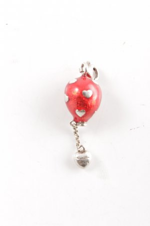 Thomas Sabo Pendant red-silver-colored casual look