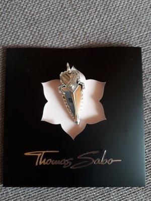 Thomas Sabo Pendente argento-nero Argento