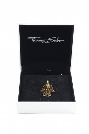Thomas Sabo Pendentif doré style classique