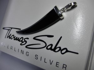 Thomas Sabo Pendant black-silver-colored