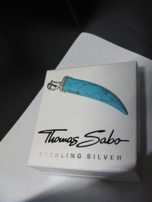 Thomas Sabo Hanger zilver-turkoois Zilver