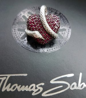 Thomas Sabo Anhänger Herz mit Schlange