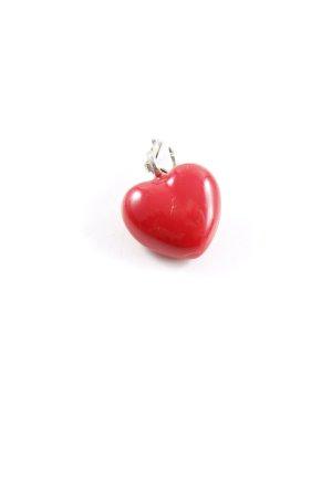 Thomas Sabo Anhänger rot-silberfarben Romantik-Look