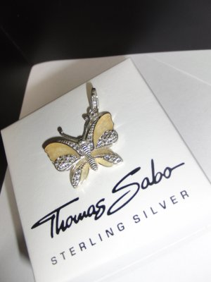 Thomas Sabo Pendente argento-giallo chiaro Argento