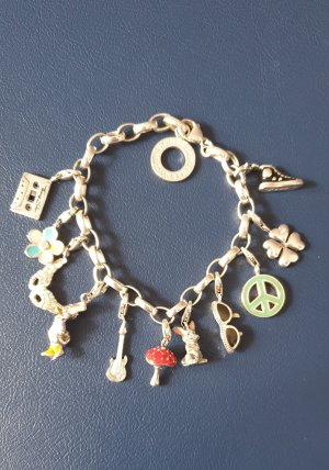 Thomas Sabo Charm Bracelet multicolored real silver