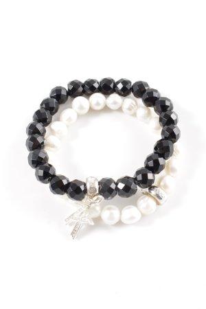 Thomas Sabo Bracelet black-white elegant