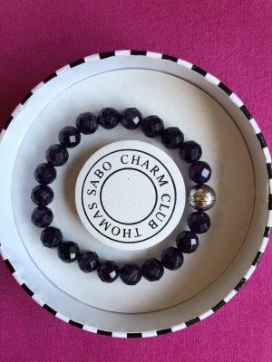 Pearl Bracelet dark violet