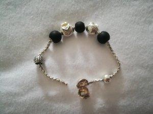 Thomas Sabo Silver Chain black-silver-colored