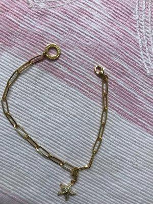 Thomas Sabo Gold Bracelet sand brown