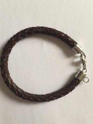 Thomas Sabo Armband Charm Club in braunem Leder