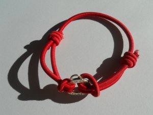 Thomas Sabo armband Gummi rot