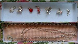Thomas Sabo Armband, Halskette und diversen Charm Club Anhängern (Ag 925)