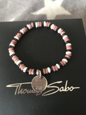 Thomas Sabo Armband hochwertige Perlen Rose/weiß/schwarz 89€