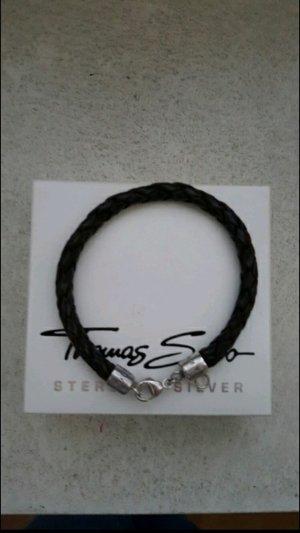 Thomas Sabo Armband Leder 21 cm