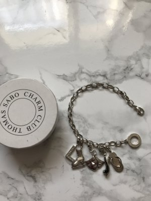 Thomas Sabo Bracelet light grey-grey real silver