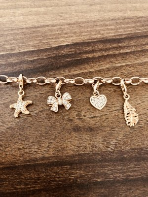 THOMAS SABO Armband mit Charms Rose Gold