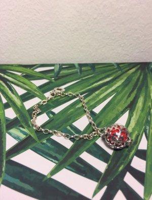 Engelsrufer Bracelet à breloques rouge-argenté