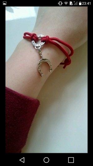 Thomas Sabo Armband mit Hufeisen Anhänger