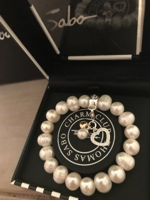 Thomas Sabo Armband Süsswasserperlen Silber 925 Herz neu 149€