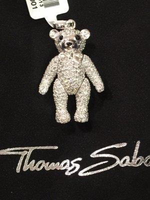 Thomas Sabo Bär Silber Strass neu np 498,-€ groß Zirkonia