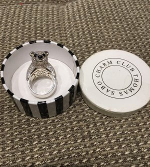 Thomas Sabo Silver Ring silver-colored-white real silver