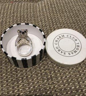 Thomas Sabo Anello d'argento argento-bianco Argento