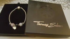 Thomas Sabo Bead Armband 3 Beads 1 Charm 2 Stopper