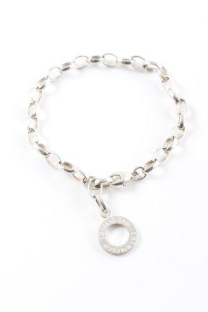 Thomas Sabo Bracciale charm argento stile semplice