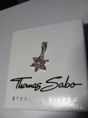 """Thomas Sabo"" Charm-Anhänger ""Blume"" (rosa)"