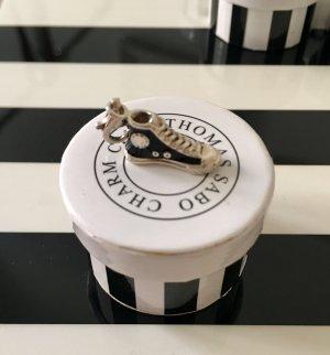 Thomas Sabo Pendant silver-colored-black real silver