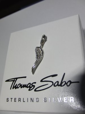 """""""Thomas Sabo"""" Charm-Anhänger """"Engelsflügel"""""""