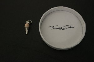 Thomas Sabo Pendant silver-colored-pink