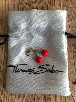 Thomas Sabo Charm-Anhänger Kirsche in rot, Original