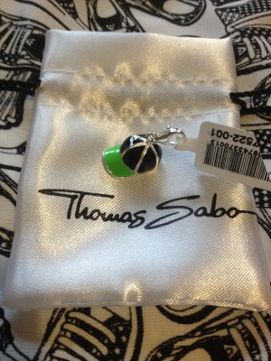 Thomas Sabo Pendente verde-nero